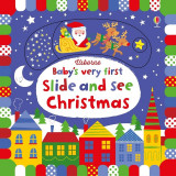 Babys Very First Slide and See Christmas - Carte Usborne (0+)