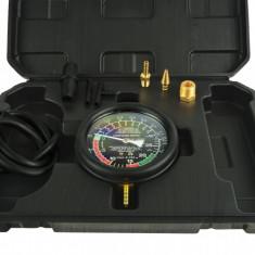 Tester vacuum & pompa carburant (vacuumetru) 0-35BAR + Servietă Transport