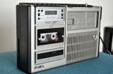 Radio-Casetofon Boombox german vintage Saba RCR-387, Telefunken