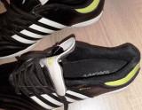 Pantofi sport fotbal teren sintetic, noname, NOI, marime 42, Negru