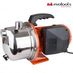 Pompa de gradina Evotools Jet 110 inox, 900W