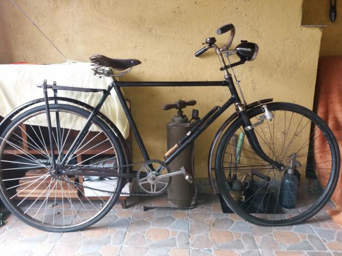 Bicicleta Carpati, funcțională