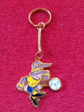 Breloc metalic fotbal - Mascota Campionatului European SUEDIA 1992