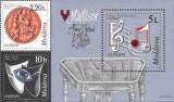 MOLDOVA 1998, EUROPA CEPT, Instrumente muzicale, MNH, serie neuzata
