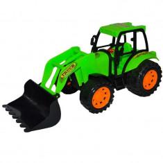 Tractor cu incarcator frontal, 24 cm foto