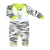 Salopeta bebe cu bluzita - Zebra - Haine Bebelusi (Marime Disponibila: 6 luni)