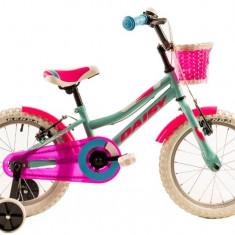 Bicicleta Copii DHS 1604 Verde Light 16