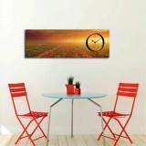 Cumpara ieftin Tablou decorativ cu ceas Clockity, 248CTY1628, Multicolor