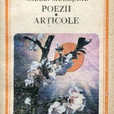 Poezii. Articole