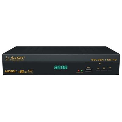 Receptor Satelit Bigsat Golden, 1 CR HD, DBV-S2, cititor carduri Conax foto