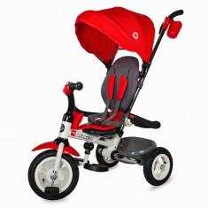 Tricicleta pliabila cu roti gonflabile Coccolle Urbio Air Red