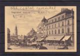 ORADEA  PIATA  REGELE  FERDINAND MAGAZINE  CIRCULATA  1915