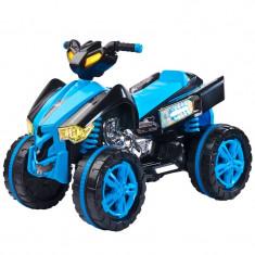 ATV electric pentru copii Raptor Toyz RPT1AL, Albastru