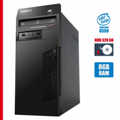 Calculator second hand Lenovo m72 Tower G550 8GB DDR3 HDD 320GB