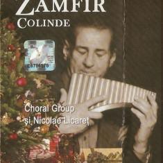 Caseta Zamfir – Colinde, originala