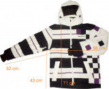 Geaca ski schi BILLABONG originala 10.000 mm ventilatii (M) cod-474582
