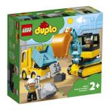 LEGO Duplo Camion și excavator pe șenile (10931)