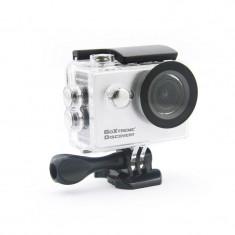 Camera Video de Actiune GoXtreme Discovery Full HD, Instantanee 12 MPx (Include 11 Accesorii)