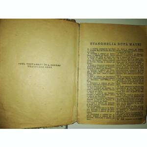 BIBLIE VECHE / NOUL TESTAMENT , PSALMII