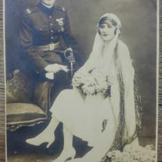 Ofiter cu sotia// foto cabinet 1931