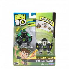 Set 2 figurine de lupta Ben 10 - Cap de Diamant si Ghiulea