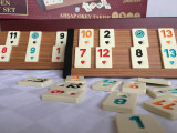 Joc Remi Remy Rummy NOU Table grele din lemn masiv lacuit. SIGILAT!