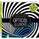 Kaleidoscope Colouring: Optical Illusions Yellow