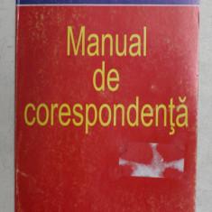 CHAMBERS MANUAL DE CORESPONDENTA ( ENGLEZA ) de ISOBEL E . WILLIAMS , 1998