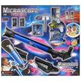 Set microscop si telescop de copii