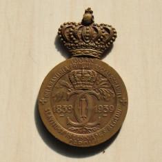 Medalia 100 ani de la nasterea primului rege al Romaniei 1839-1939