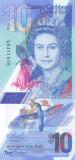 Bancnota Caraibe ( Eastern Caribbean ) 10 Dolari 2019 - PNew UNC ( polimer )