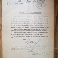Act cedare gratuită loc de veci, cimitirul Sfânta Vineri, București, 15 mar 1943