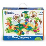 Setul constructorului - maimutele buclucase PlayLearn Toys, Learning Resources