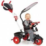 Tricicleta sport 4in1 rosu cu alb, Little Tikes