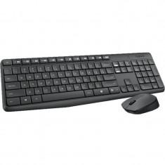 Kit tastatura si mouse Logitech Wireless Combo MK235