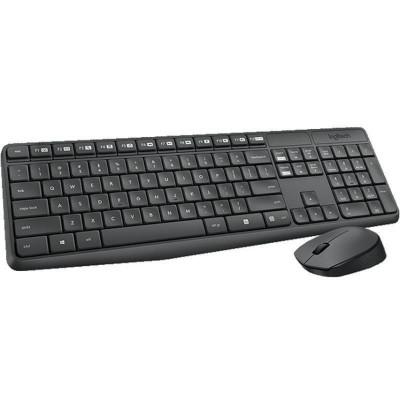 Kit tastatura si mouse Logitech Wireless Combo MK235 foto