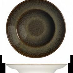 Farfurie Gourmet din portelan, 30cm, adanca, Bonna Tierra, 0101415