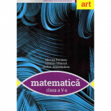 Matematica manual clasa a V-a, autor Marius Perianu