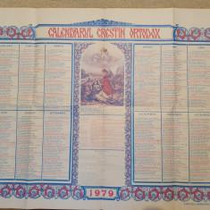 calendar ortodox din anul 1979