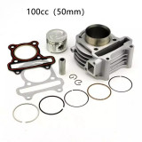 Kit Cilindru Set Motor Scuter Chinezesc Gy6 4T - 100cc - 50mm - bolt 13mm