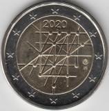 Moneda 2 euro comemorativa FINLANDA 2020_Turku, UNC, Europa, Cupru-Nichel