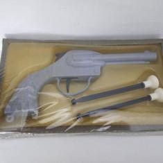 Pistol de jucarie vechi perioada comunista