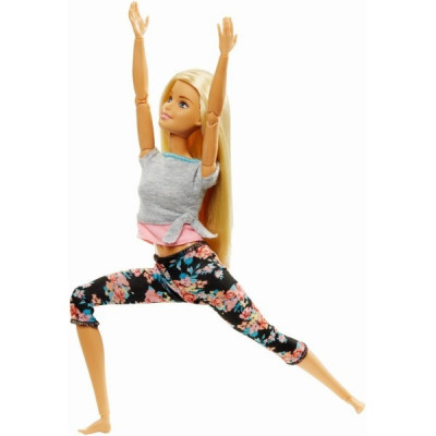 Papusa Barbie Mereu In Miscare Fitness Style foto