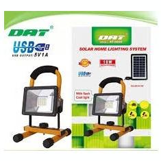Proiector cu incarcare solara si LED 10W