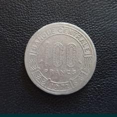 Monedă 100 francs 1972 Gabonaise