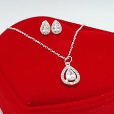 """Set bijuterii din argint 925 """"PRINCESS"""" Cristale Zirconiu"""