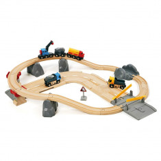 Un set continand sosea si cale ferata pentru cariera Brio 33210