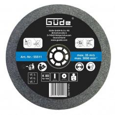 Disc abraziv pentru polizor de banc Guede Gude55511 O150x20x32 mm K80
