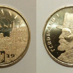 România - 50 bani - 2019 - Regele Ferdinand I - necirculată, din fisic (M0101)