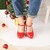 Pantofi De Dama Sareni Rosii 40 EU Rosu